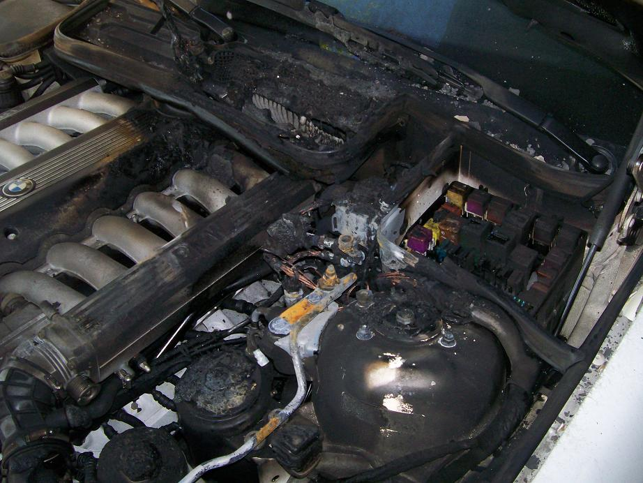 diagnosis fires this e31 owner did not check his cable soon enough